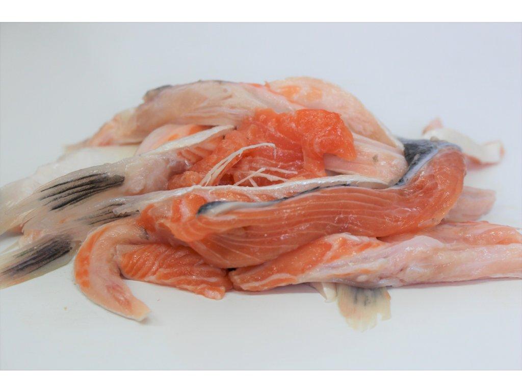 ořez z lososa