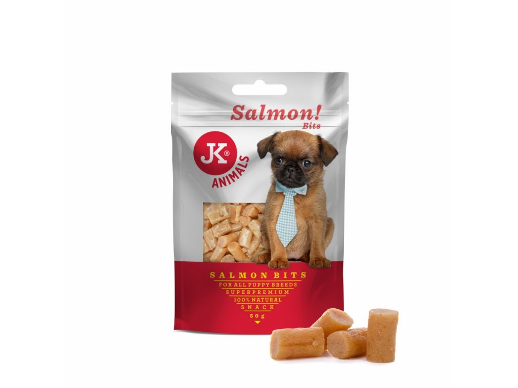 44942 jk superpremium meat snack puppy salmon bits 50 g 1