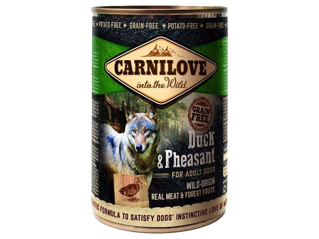 3726 carnilove wild meat duck pheasant 400g