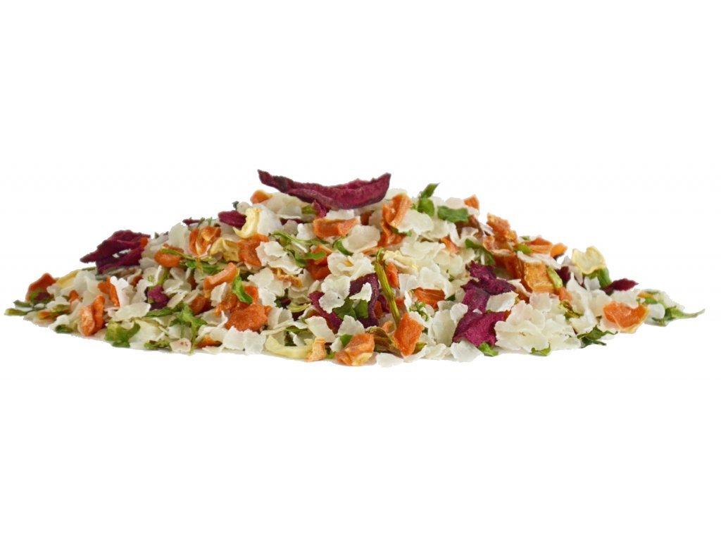 Dromy rýžový mix se zeleninou 1000g (PetVet)