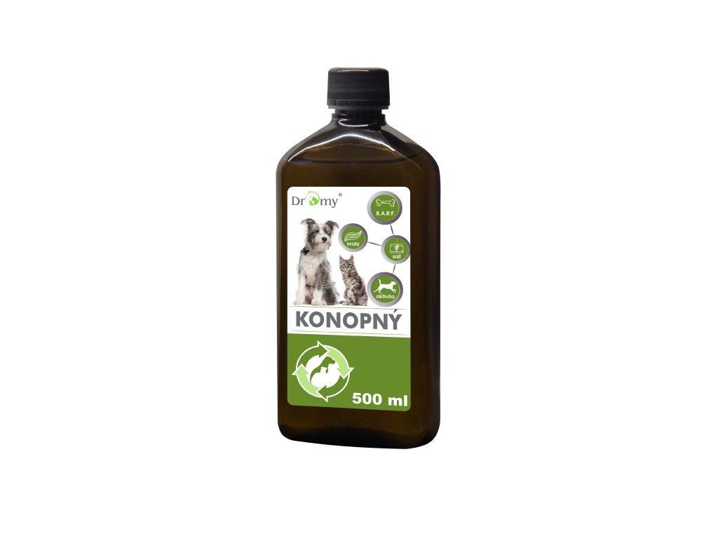 Konopný olej 500 ml