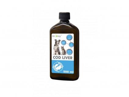 Olej z tresčích jater 500 ml (PetVet)