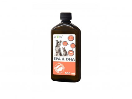 Omega EPA a DHA olej 500 ml (PetVet)