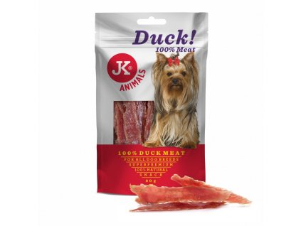 44961 jk superpremium meat snack dog 100 duck 80 g 1