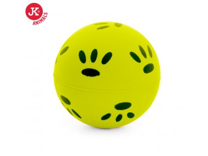 46002 2 jk animals gumovy micek tlapky 5 7 cm zluty 1