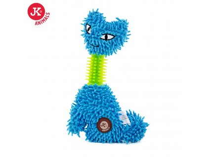 46107 1 jk animals plysova hracka kocka mop tpr krk 23 cm modra 1