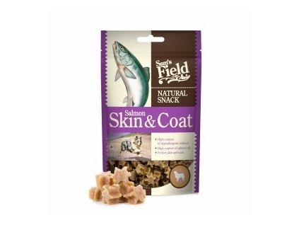 44661 sams field natural snack skin and coat 200 g 0