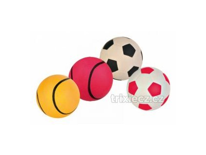 míč mechová guma