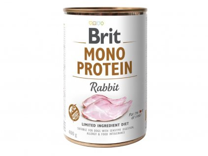 5445 brit mono protein rabbit 400g