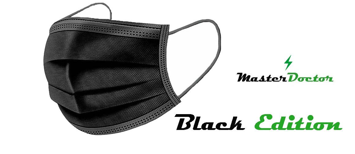 Jednorázová rouška černá