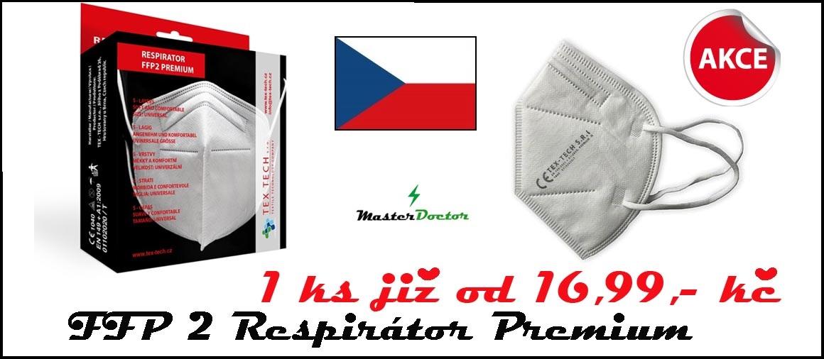 FFP2 ČESKÉ RESPIRÁTORY