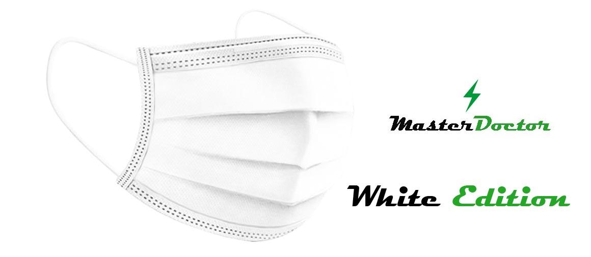 Jednorázová rouška bílá