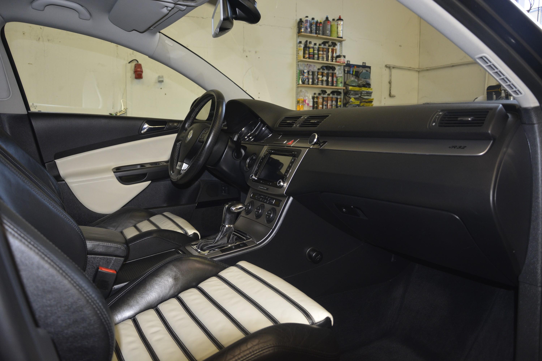 vyMASTERováno - Interiér Passatu R32