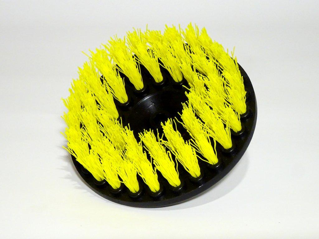Rotační kartáč na mokré drhnutí koberců - CARPET DRILL BRUSH ATTACHMENT