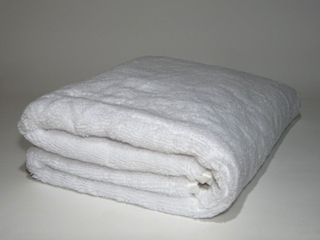 Extra velký sušicí ručník na auto - EXTRA LARGE WHITE DRYING TOWEL