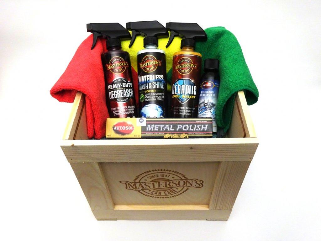 Masterson's dárkový box 6 - VYBAVENÍ PRO MOTORKÁŘE