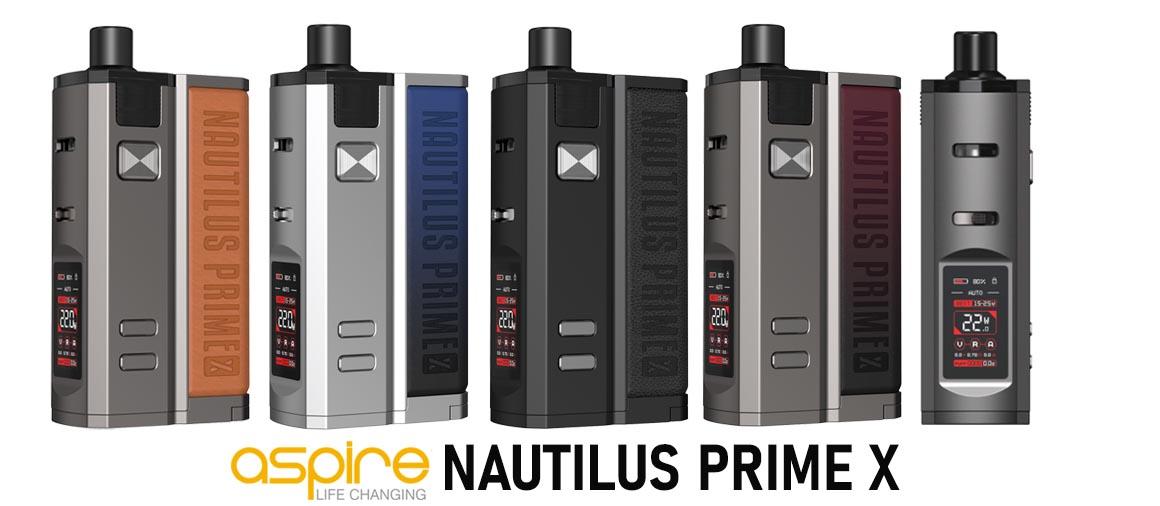 ASPIRE PRIME X Velkoobchod e-cigaret | Mastervaper.cz - velkoobchod elektronické cigarety
