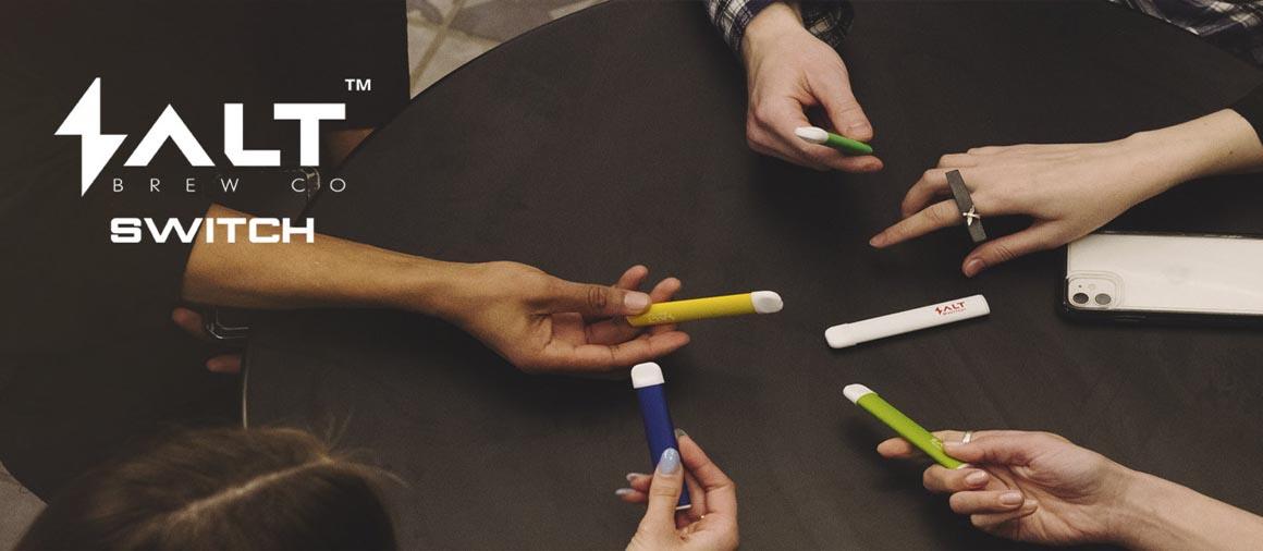 SALT SWITCH Velkoobchod e-cigaret | Mastervaper.cz - velkoobchod elektronické cigarety