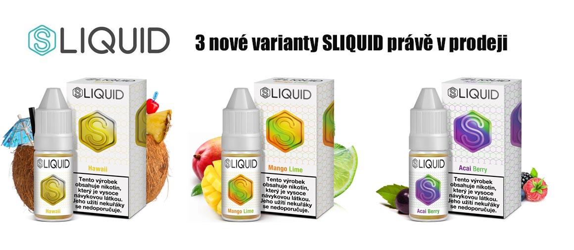 Sliquid Velkoobchod e-cigaret | Mastervaper.cz - velkoobchod ele