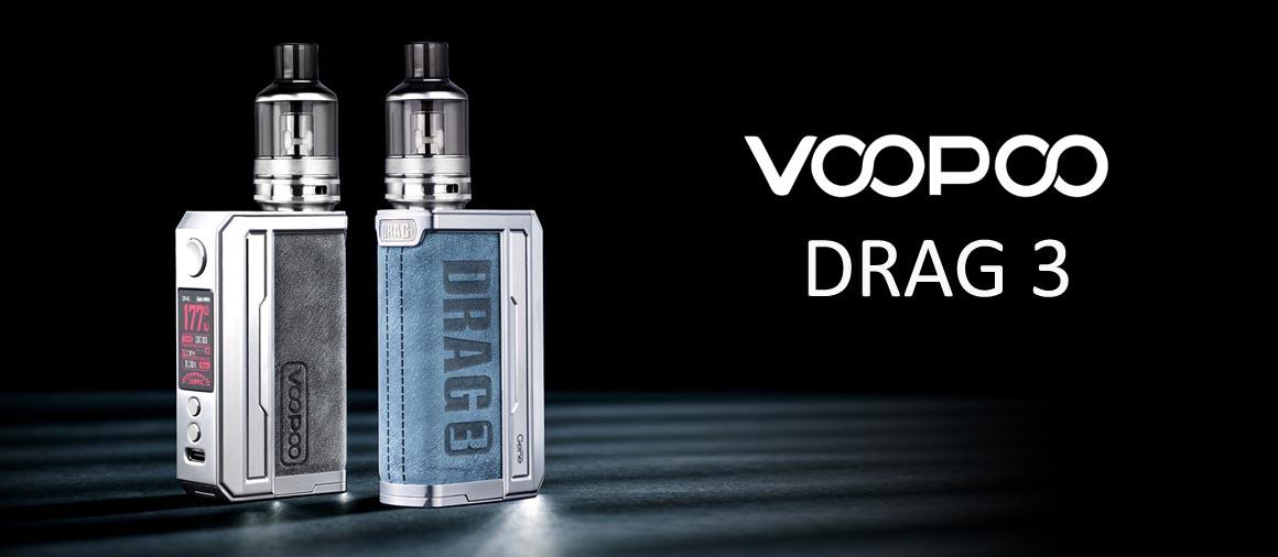 VOOPOO DRAG 3 velkoobchod - MasterVaper.cz - Velkoobchod elektronických cigaret