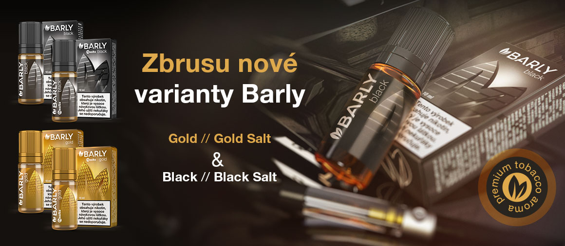 Barly BLACK and BARLY GOLD