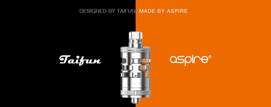 Clearomizer aSpire Nautilus GT Mini, spolupráce s Taifun 2