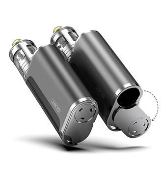 aSpire Nautilus GT Grip pohání baterie typu 18650