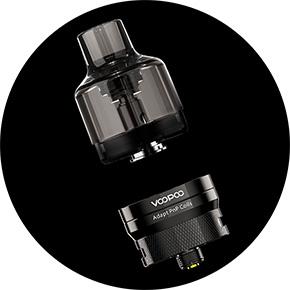 Voopoo PnP Pod Tank Clearomizer vyměnitelná Cartridge