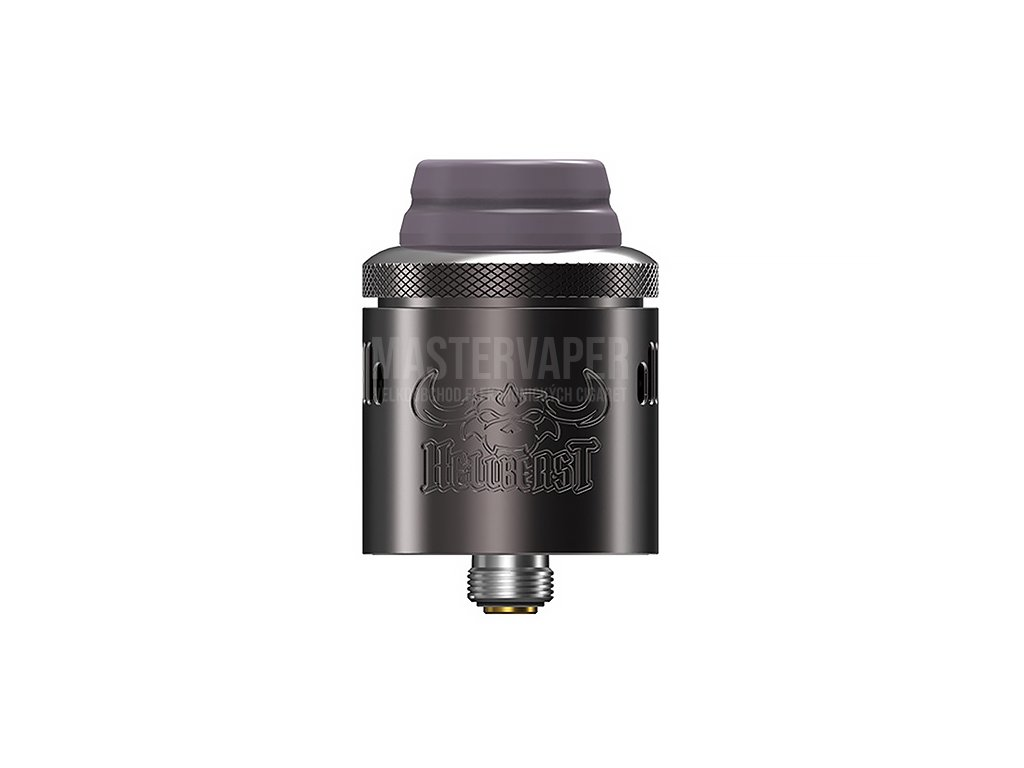 Hellvape Hellbeast - RDA Atomizér - 24mm (Gunmetal)