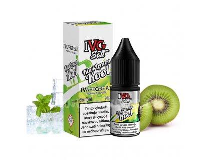 E-liquid IVG Salt 10ml / 20mg: Kiwi Lemon Kool (Ledové kiwi s citronem)