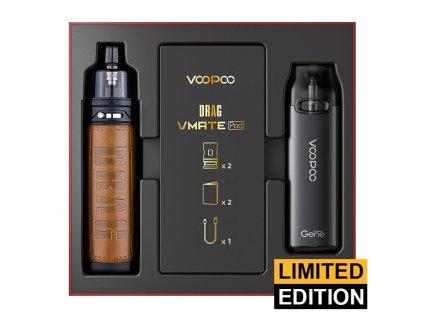 VOOPOO Drag X + VMATE Pod - Limitovaná edice (Retro & Space Gray)