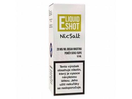 E-Liquid Shot - Booster NicSalt - 50VG / 50PG - 20mg - 10ml