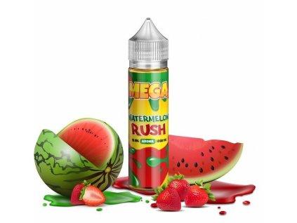 Verdict Vapors - MEGA - Shake & Vape - Watermelon Rush (Vodní meloun se sladkými jahodami) - 18ml