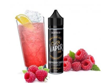 AEON Vaper Pub - Shake & Vape - Raspberry Liquor (Malinový nápoj) - 6ml
