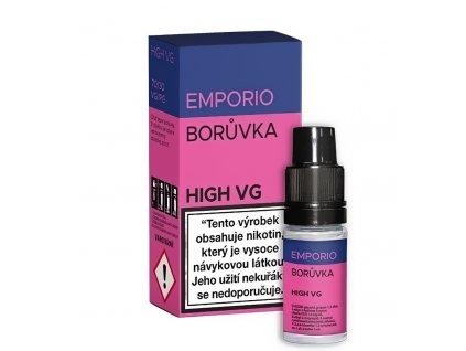 Liquid Emporio HIGH VG - Borůvka - 10ml - 0mg