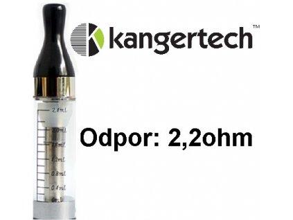 kangertech kangertech cct2 clearomizer 24ml 22ohm clear