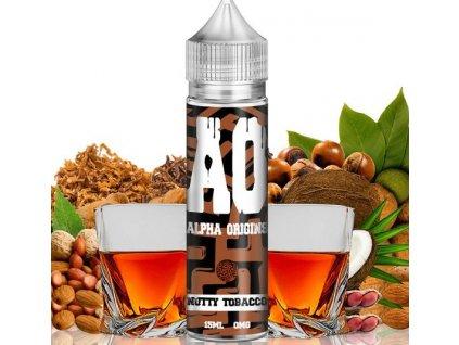 71252 1 prichut alpha origins shake and vape 15ml nutty tobacco