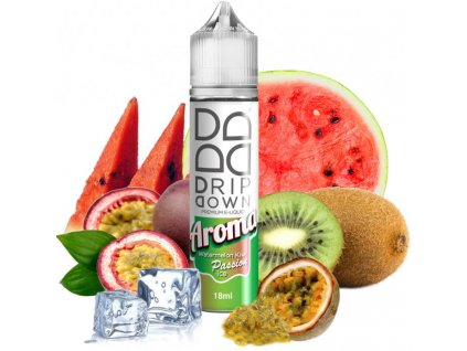 72074 prichut drip down shake and vape watermelon kiwi passion ice 18ml