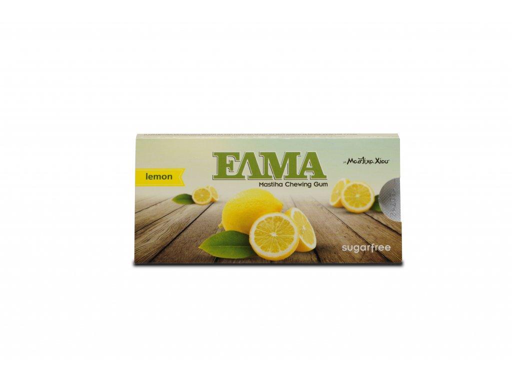 Levně ELMA mastichové žvýkačky máta, dražé 10 ks Příchuť: Citron
