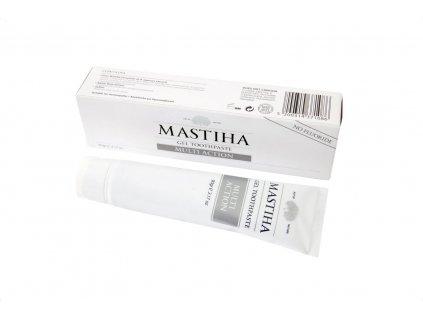 Zubní pasta s mastichovým olejem