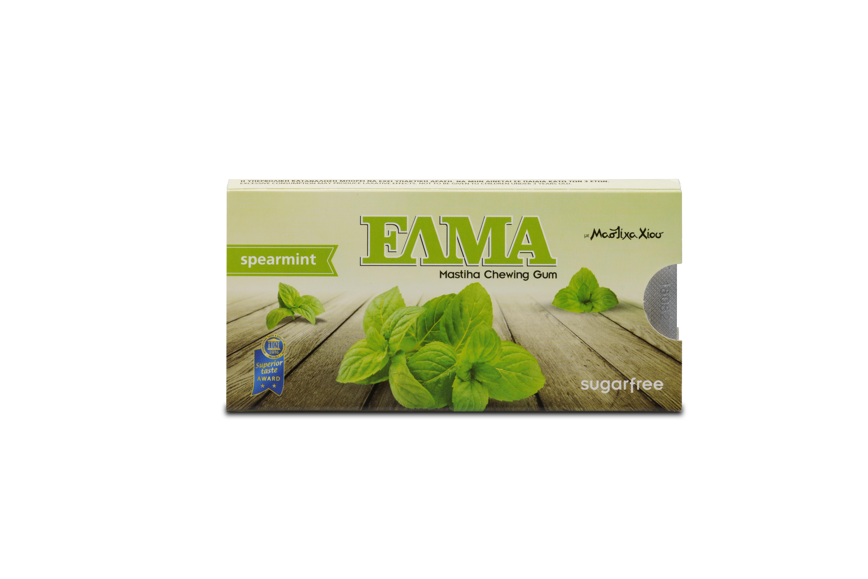 Levně ELMA mastichové žvýkačky máta, dražé 10 ks Příchuť: Máta
