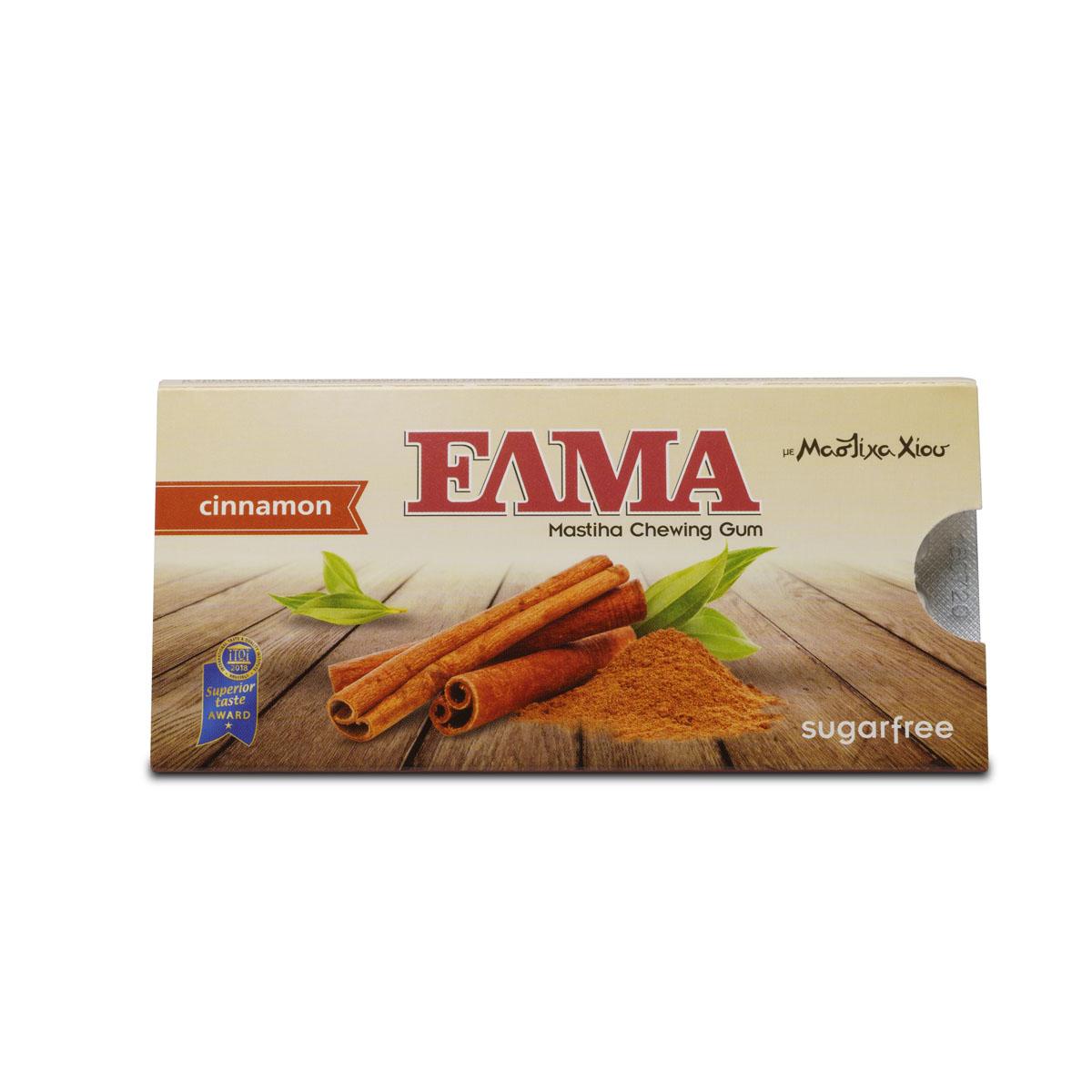 Levně ELMA mastichové žvýkačky máta, dražé 10 ks Příchuť: Skořice