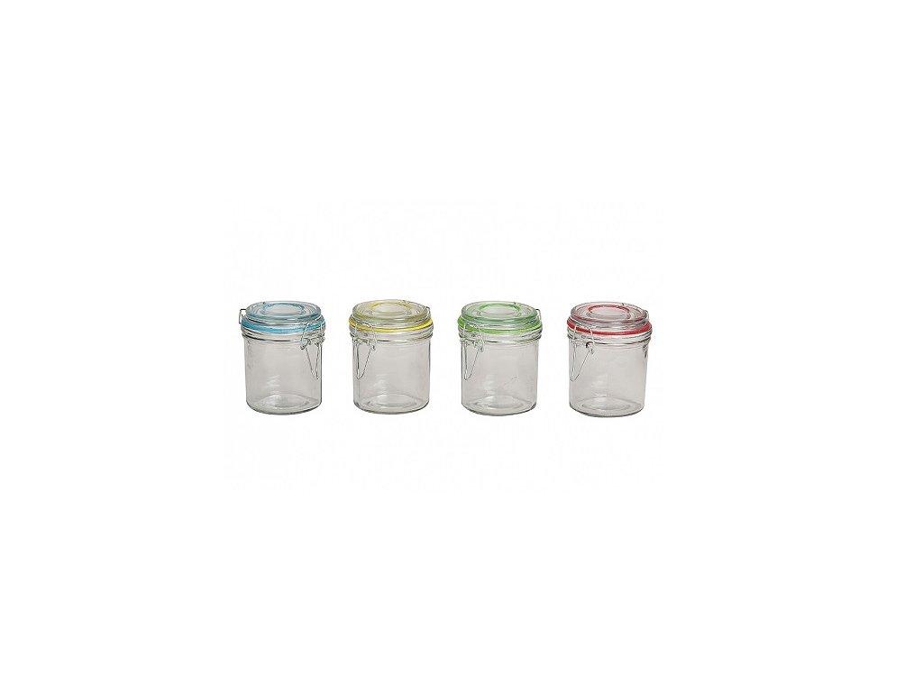 Zavařovací sklenice na marmeládu 0,25 l zelená