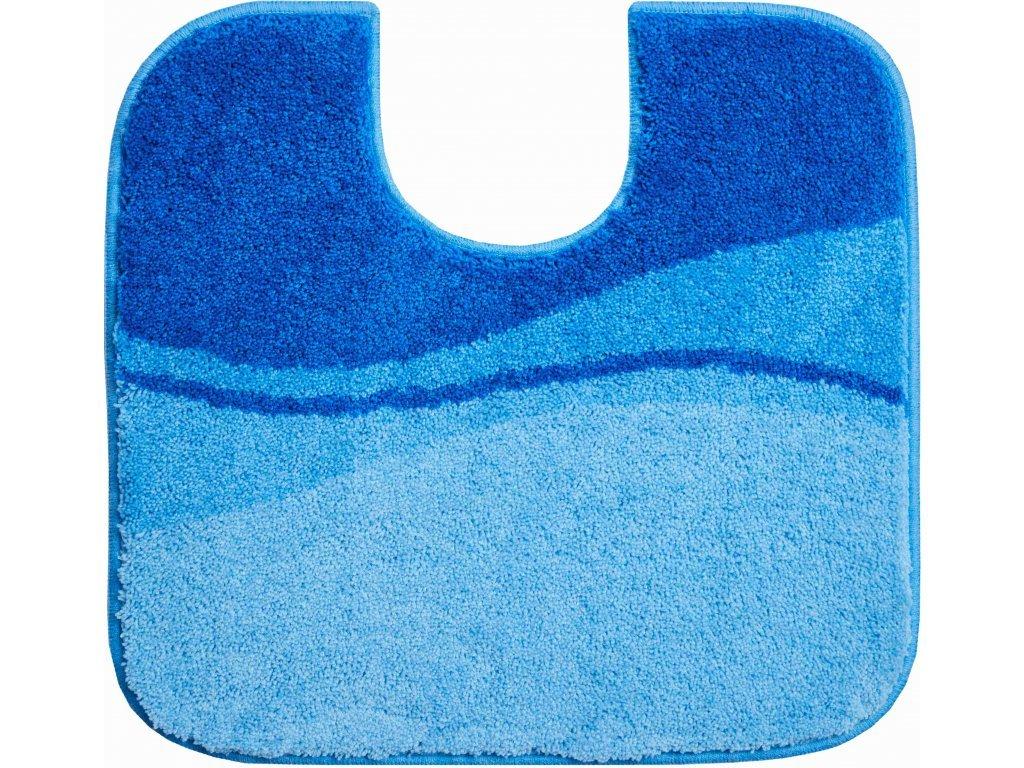 WC předložka s výřezem Grund Flash 55x60 cm modrá