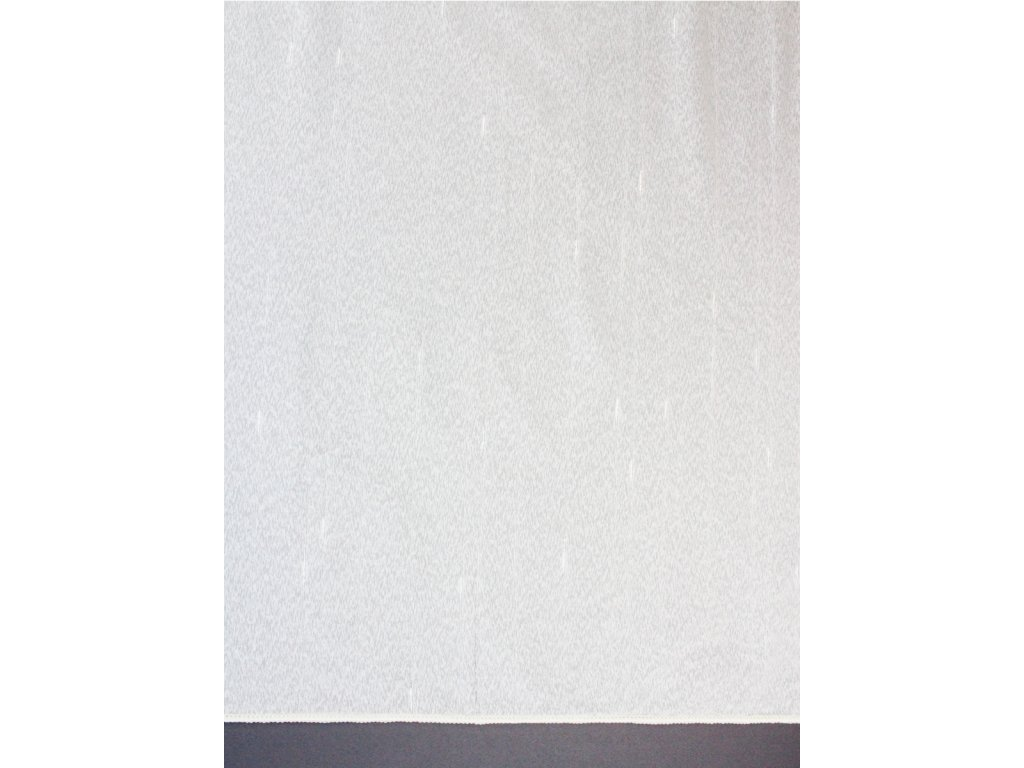 Voálová záclona výška 300 cm smetanová