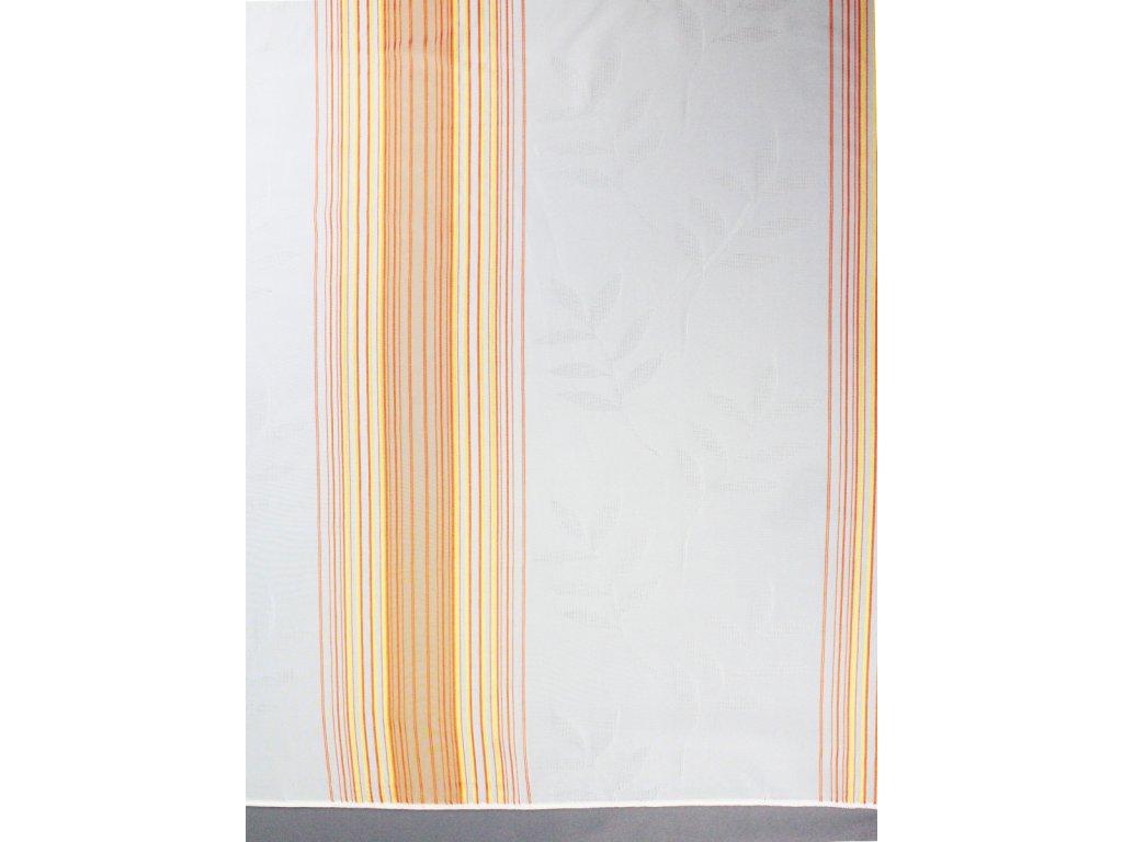 Voálová záclona výška 250 cm