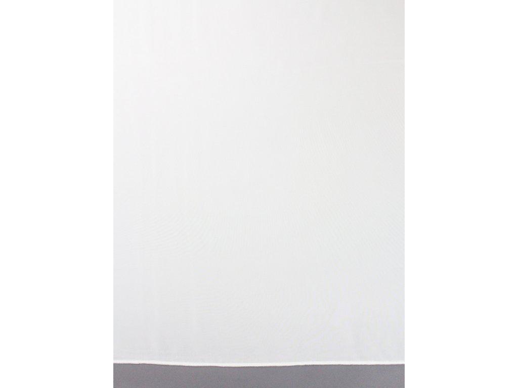 Voálová záclona výška 180 cm smetanová