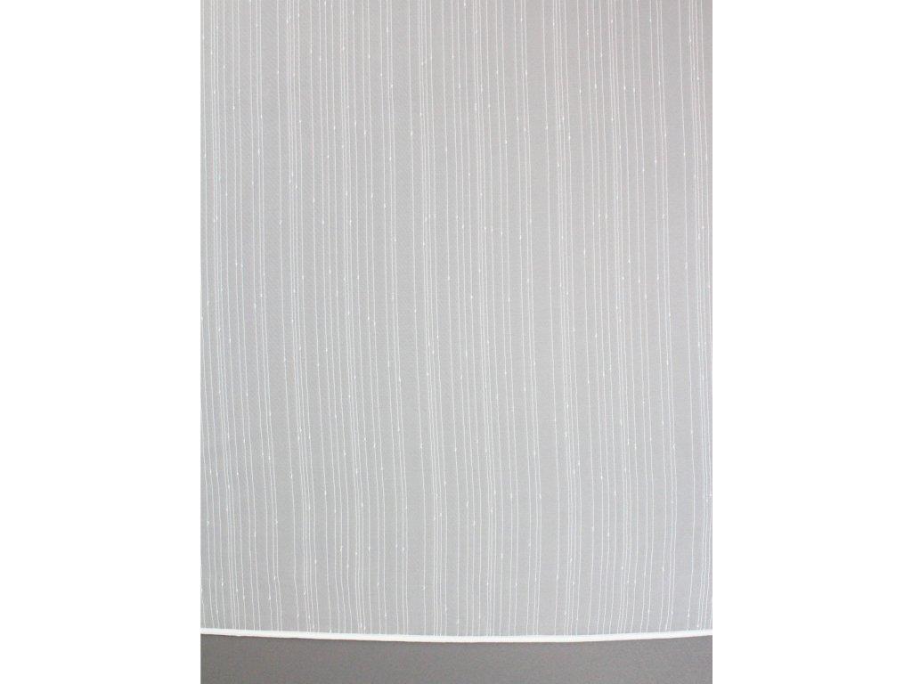Voálová záclona Otylka výška 260 cm bílá