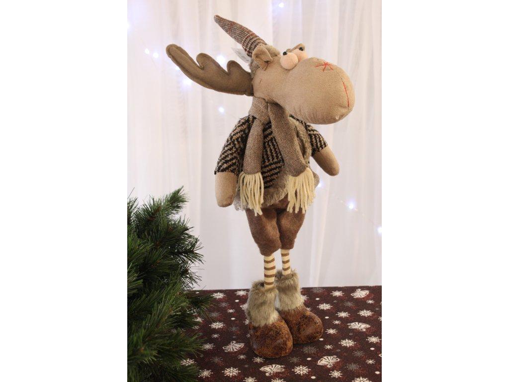 Vánoční dekorace Sob Syd výška 51 cm