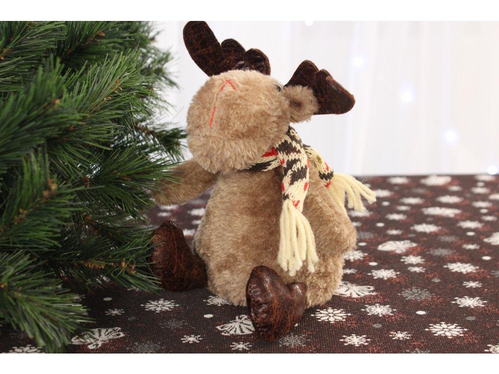 Vánoční dekorace Sob Syd výška 18 cm